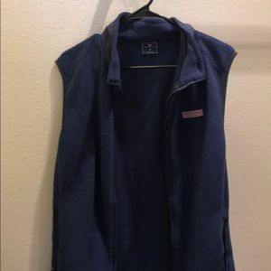 Vineyard Vines zip up vest